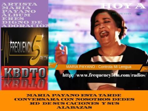 Artista_ Maria PayanoÁlbum_ Eres Digno de Adoracion (1)