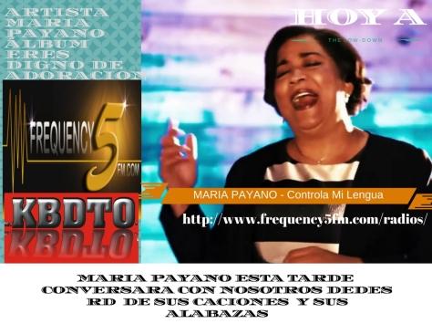 Artista_ Maria PayanoÁlbum_ Eres Digno de Adoracion (2)